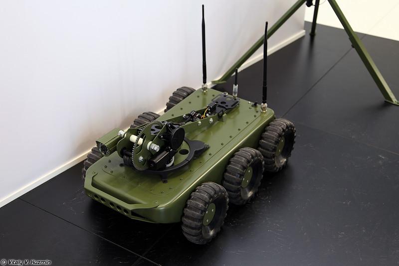 Робототехнический комплекс КРММ-06 (KRMM-06 robot)