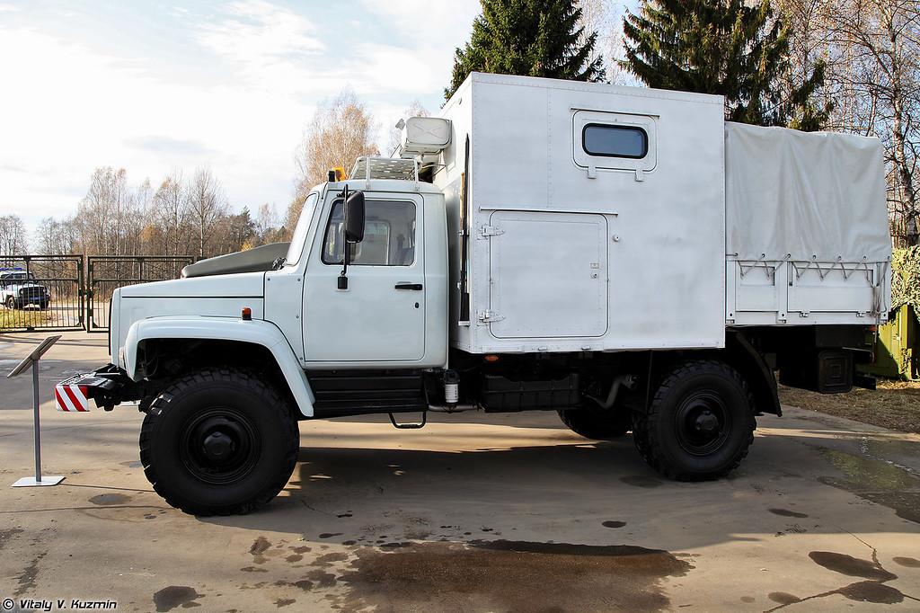 Машина технической помощи МТП-1 (Technical assistance vehicle MTP-1)