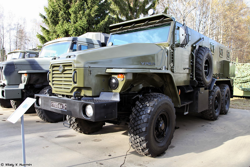 Бронеавтомобиль Урал-ВВ (Ural-VV armored vehicle)