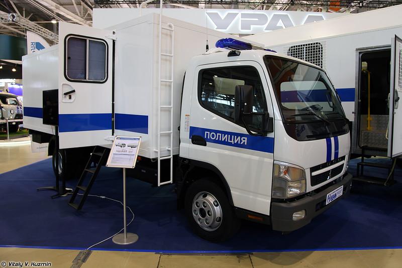 Автомобиль специальный оперативно-служебный FUSO-АЗ (FUSO-AZ prison van)