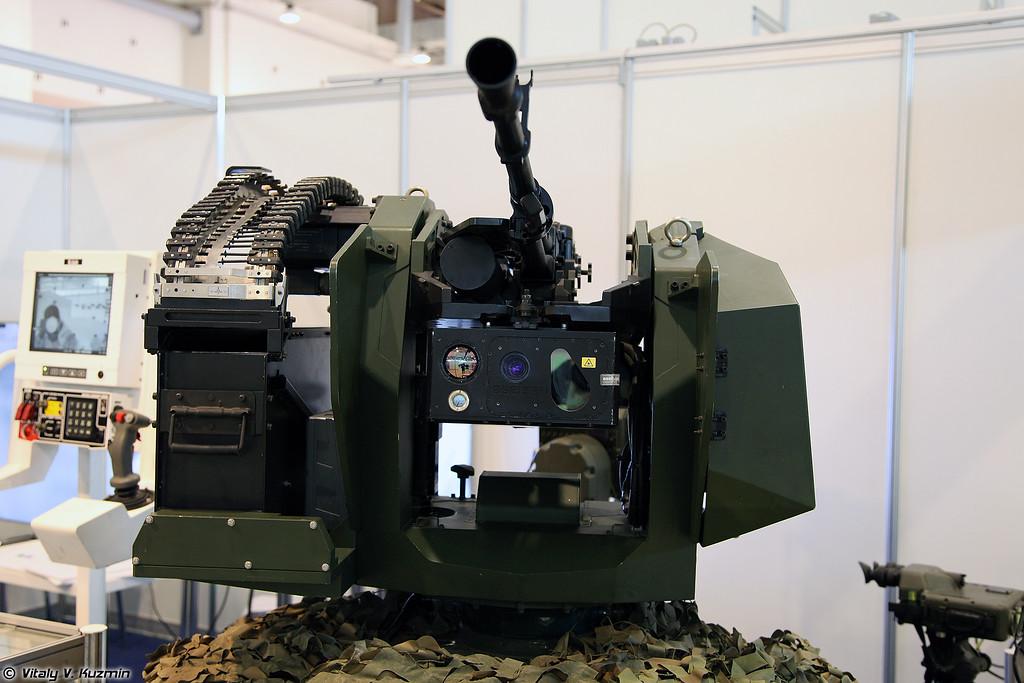 Стабилизированный ДУМВ SARP от турецкой Aselsan (Aselsan SARP remote weapon turret)