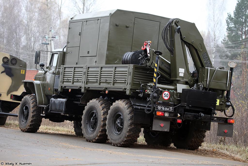 Специальная инженерная машина СИМ-2 (Special engineer vehicle SIM-2)