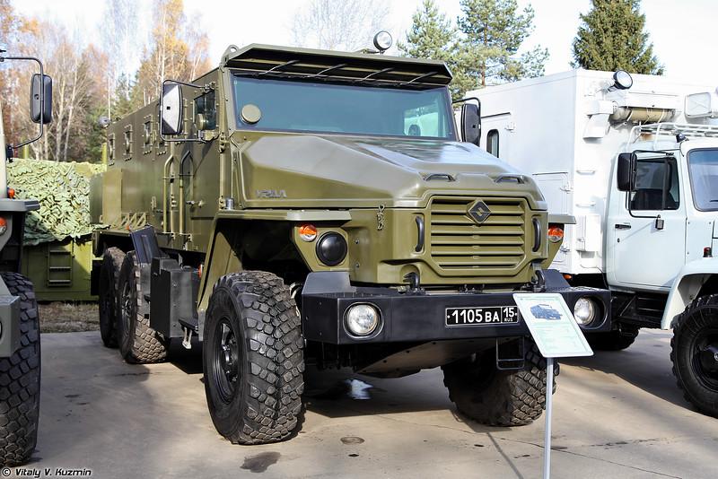 Бронеавтомобиль Урал-ВВ (Ural-VV armored vehicle)