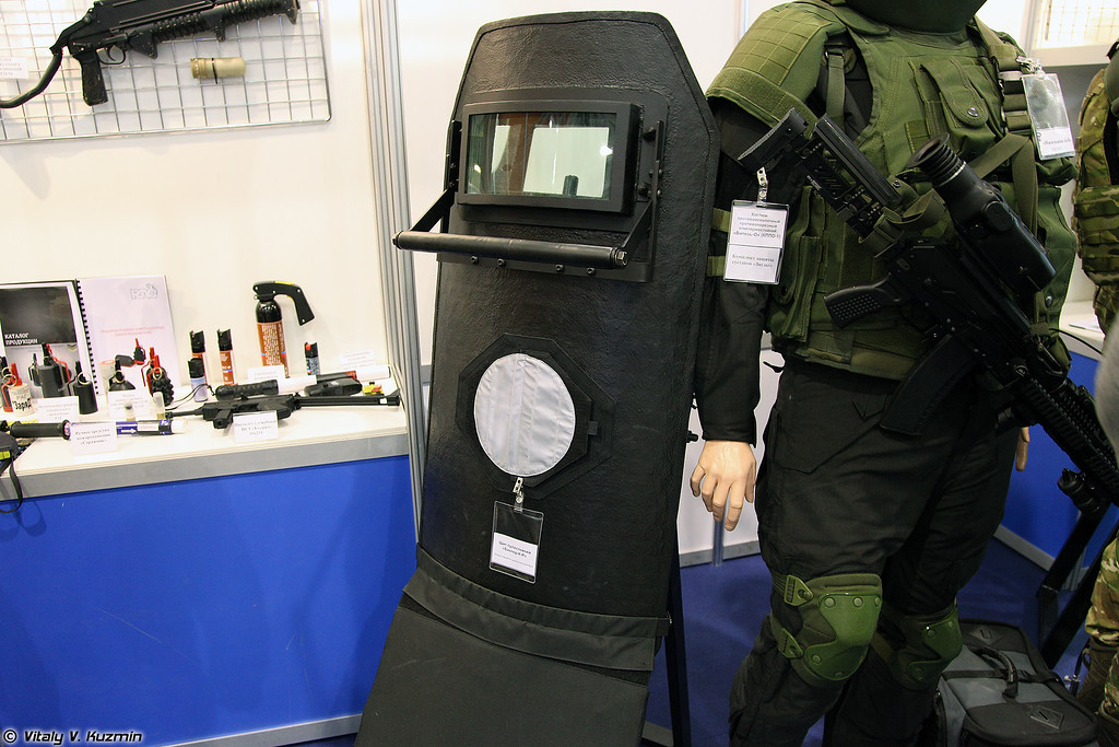Щит Баклер-К-Р (Bakler-K-R ballistic shield)