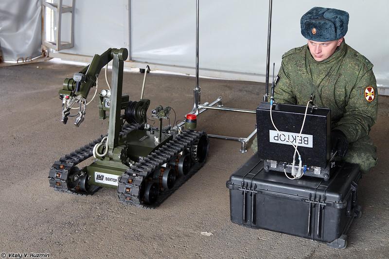 Робототехнический комплекс Вектор (Vektor robot)