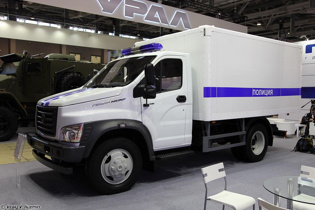 Автомобиль для перевозки заключенных ГАЗон NEXT C41R13 (GAZon NEXT C41R13 prison van)
