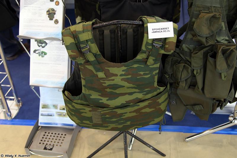 Бронежилет Кираса ПС-У (Kirasa PS-U bulletproof vest)