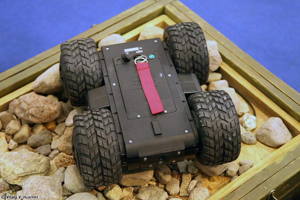 Робототехнический комплекс Скарабей-2 (Skarabey-2 robot)