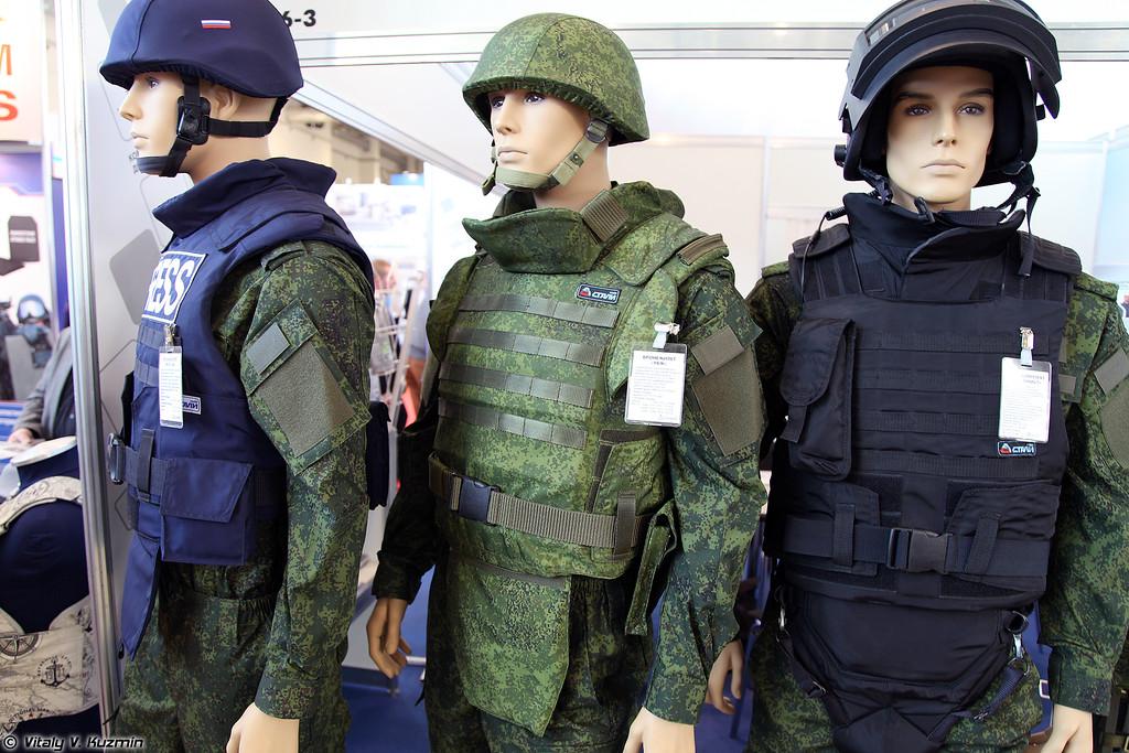 Бронежилет УБЖ (UBZh bulletproof vest)