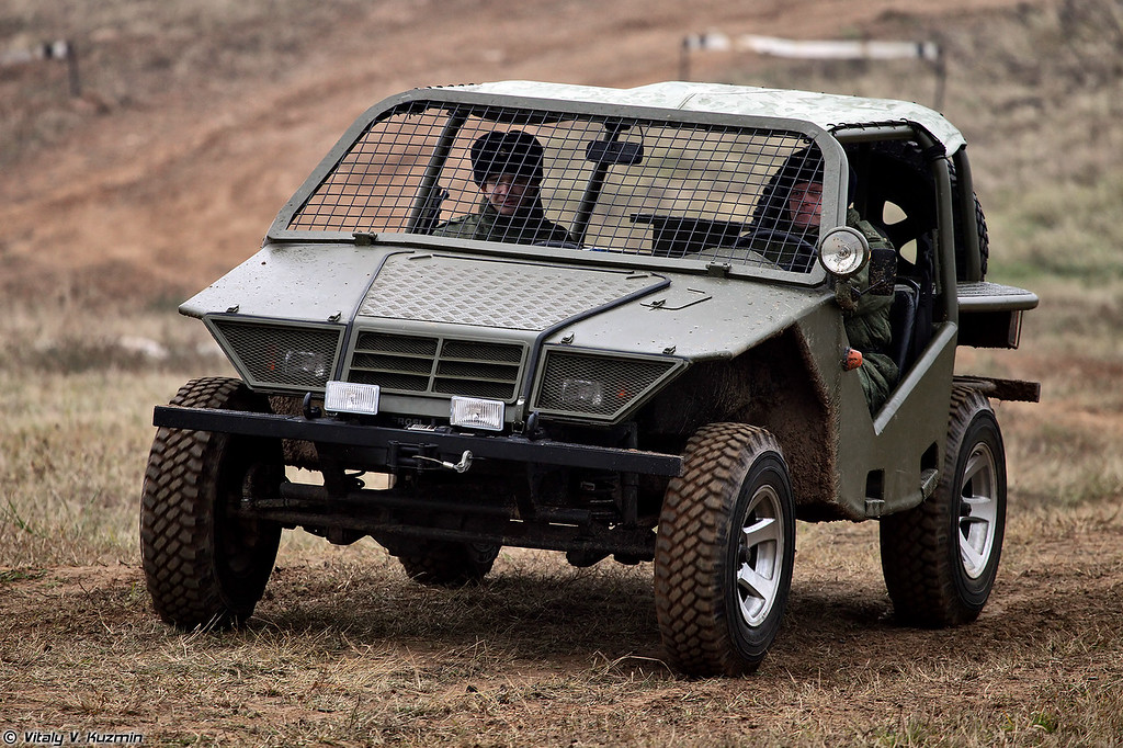 ВКТС Охотник (Okhotnik light tactical vehicle)