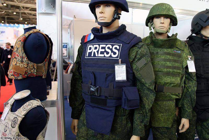 Бронежилет Жук-6А (Zhuk-6A bulletproof vest)