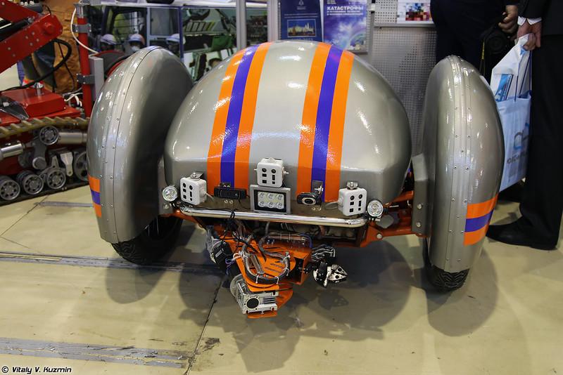 Мультиагентный робототехнический комплекс разведки и мониторинга МультиРК (MultiRK robot)