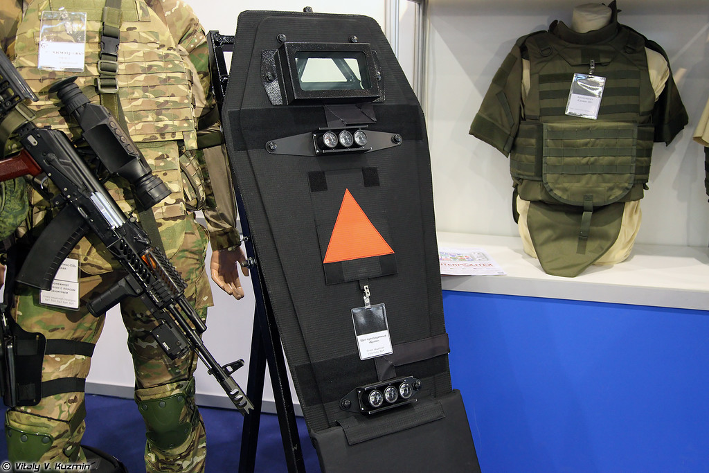 Бронещит Булат (Bulat ballistic shield)