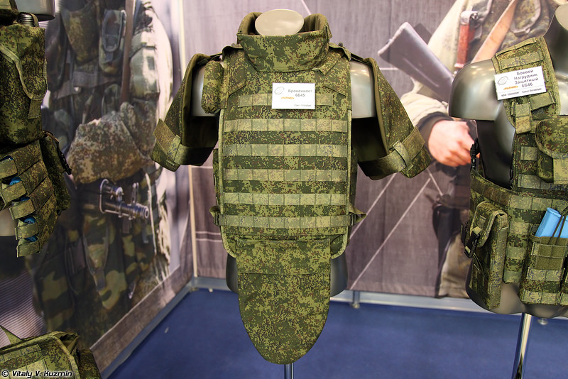 Бронежилет 6Б45 (6B45 bulletproof vest)