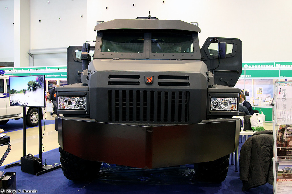 Бронеавтомобиль Патруль-А (Patrol-A armored vehicle)