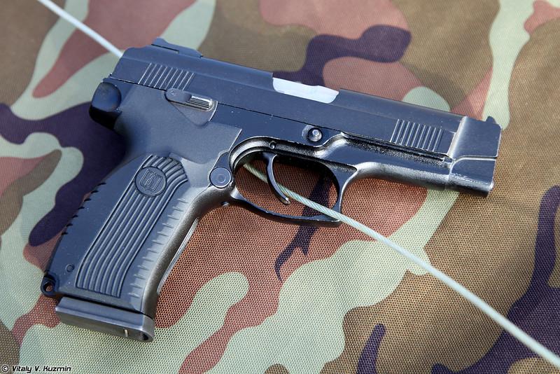 Пистолет Ярыгина (Yarigin pistol PYa)