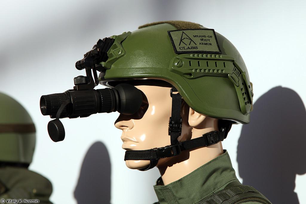 Второй вариант шлема Тор (The second version of Tor helmet)
