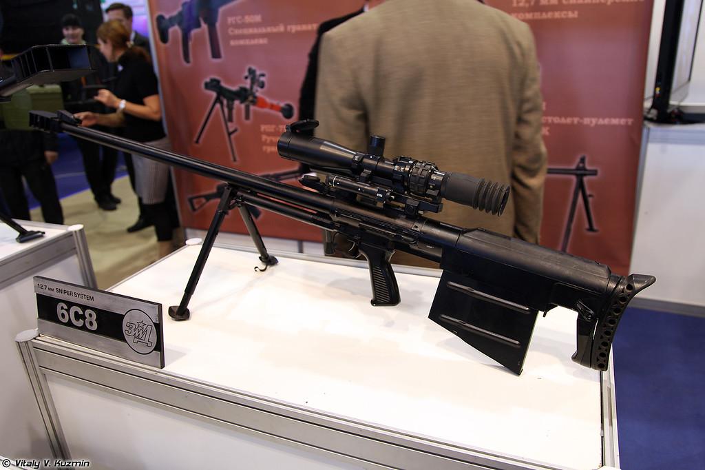 Снайперская винтовка АСВК (ASVK sniper rifle)