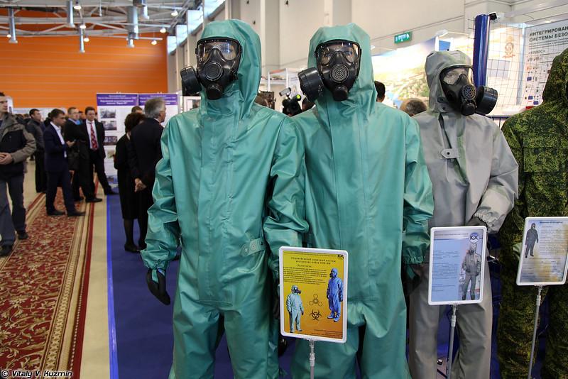 Общевойсковой защитный костюм внутренних войск ОЗК-ВВ (NBC suit for Internal troops OZK-VV)