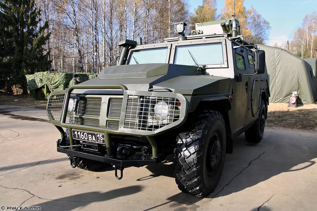 Разведывательная химическая машина РХМ-ВВ (NBC reconnaissance vehicle RKhM-VV)