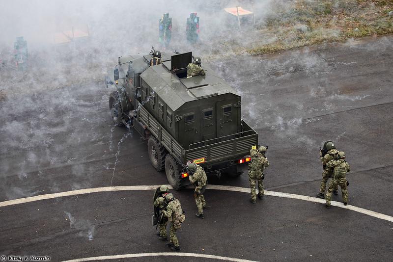 604-й ЦСН ВВ МВД России (604th Special Purpose Center Vityaz of Internal troops)