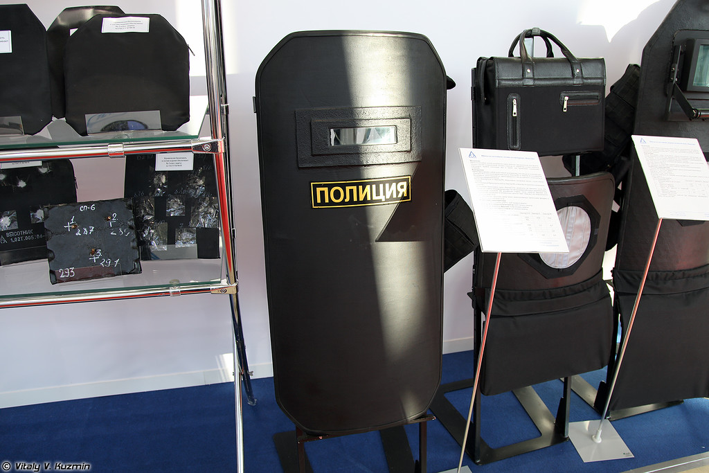 Бронещит Баклер (Bakler ballistic shield)