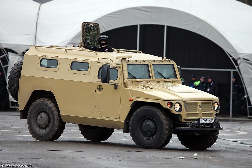 Специальная полицейская машина ГАЗ-233034 Тигр СПМ-1 (GAZ-233034 Tigr SPM-1 special police vehicle)