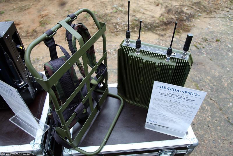Носимый блокиратор Пелена-6РМ22 (Pelena-6RM22 portable jammer)