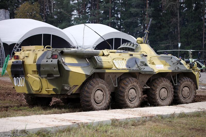 Бронетранспортер БТР-80М (BTR-80M armored personnel carrier)