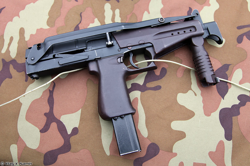 СР-2М (SR-2M submachine gun)