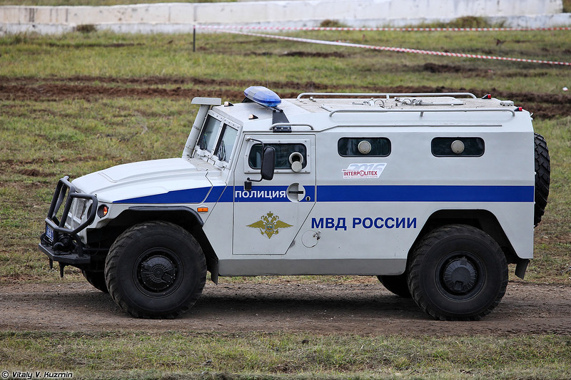 ГАЗ-233036 Тигр СПМ-2 (GAZ-233036 Tigr SPM-2 armored vehicle)