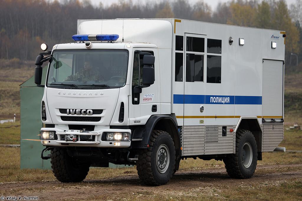 Специальный автомобиль технической поддержки проведения специальных операций АТПСО Балкон (ATPSO Balkon special operations support vehicle)