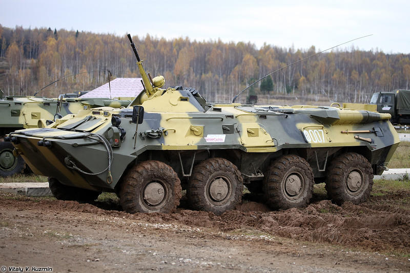 Бронетранспортер БТР-80М (BTR-80M armored personnel carrier)