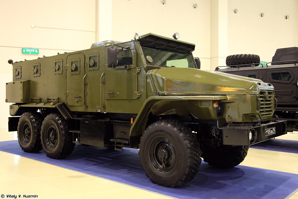 Бронеавтомобиль Урал-432009-0020-73 Урал-ВВ (Ural-432009-0020-73 Ural-VV armored vehicle)