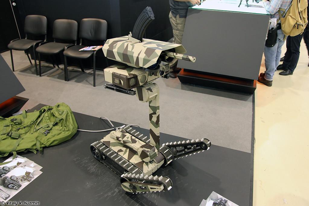 Легкий мобильный тактический робот RS1A3 Minirex (RS1A3 Minirex light tactical robot)