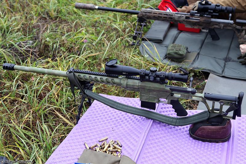 Снайперская винтовка ДВЛ-10 (DVL-10 sniper rifle)