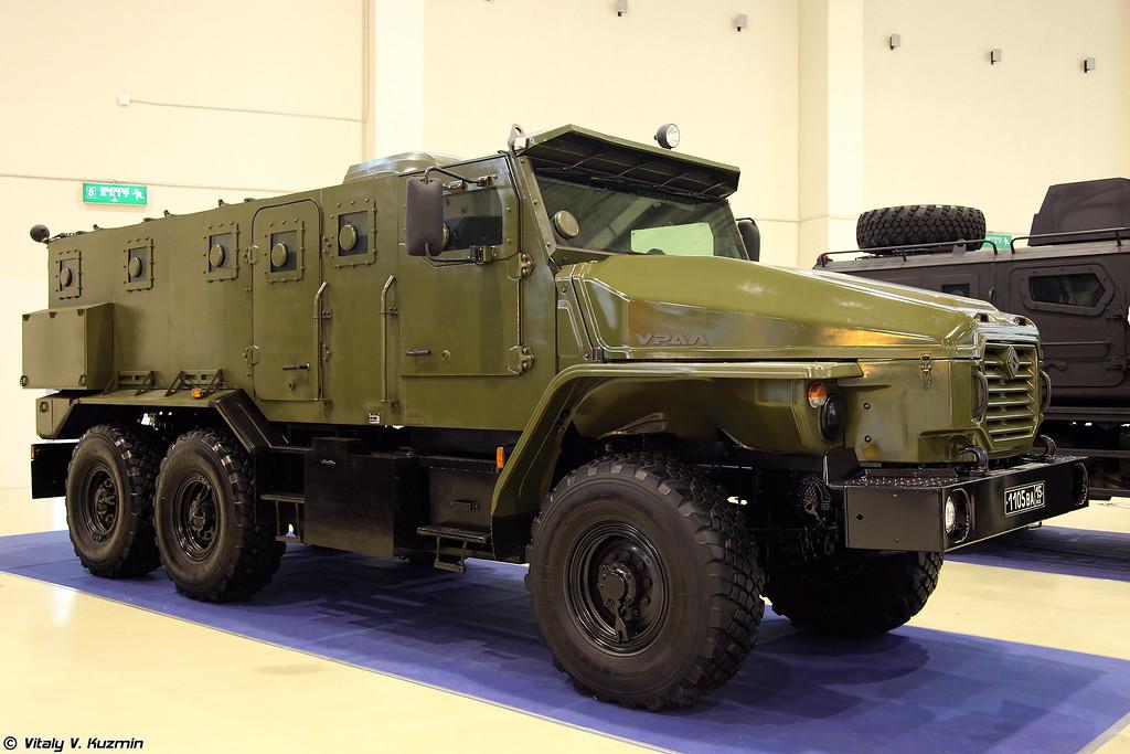 Бронеавтомобиль Урал-432009-0020-73 Урал-ВВ (Ural-432009-0020-73 Ural-VV armored vehicle)