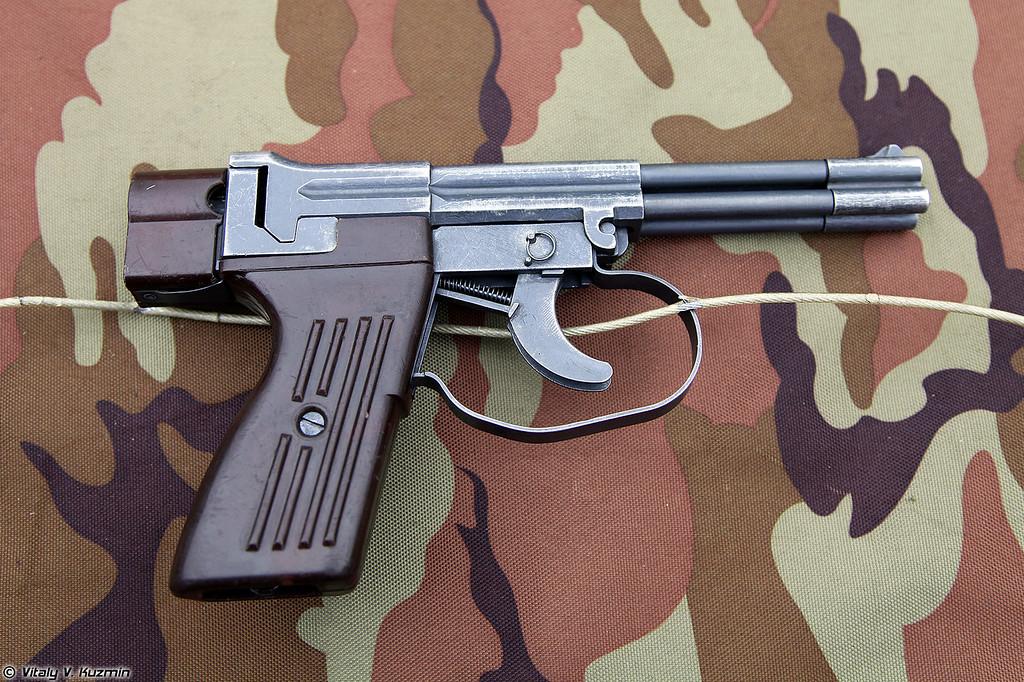 Пистолет подводный СПП-1М (SPP-1M underwater pistol)
