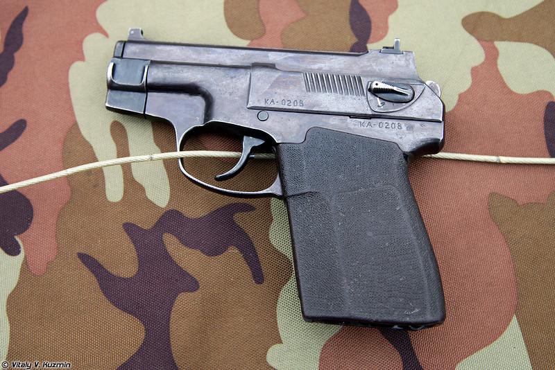 Пистолет ПСС (PSS silent pistol)