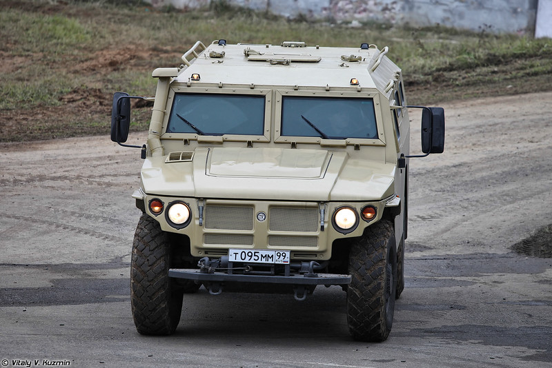 ГАЗ-233034 Тигр СПМ-1 (GAZ-233034 Tigr SPM-1 armored vehicle)