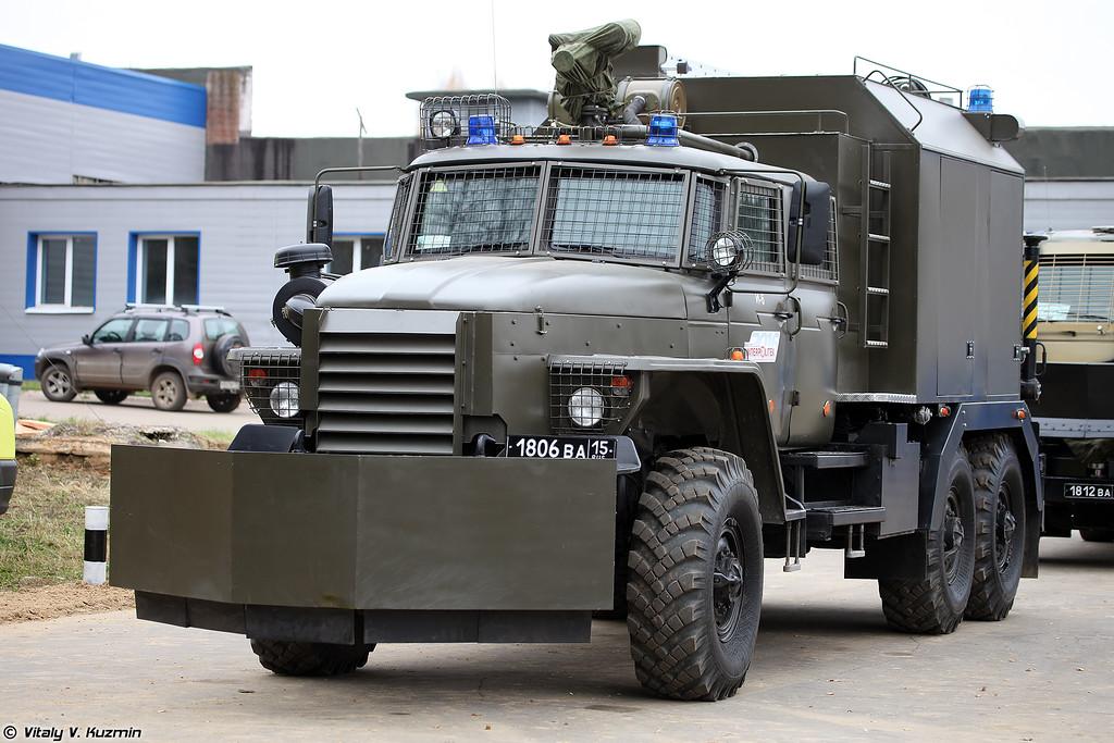 Специальная инженерная машина Торнадо на шасси Урал-4320-1880-30И (Special police vehicle Tornado on Ural-4320-1880-30I chassis)