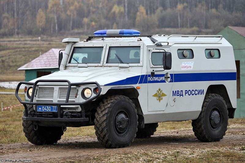 ГАЗ-233036 Тигр СПМ-2 (GAZ-233036 Tigr SPM-2 armored vehicle)