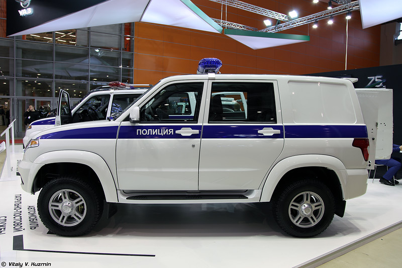 УАЗ Патриот для ППС (UAZ Patriot for patrol police)