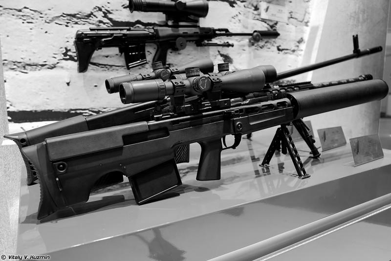 ВССК Выхлоп (VSSK Vykhlop/VKS sniper rifle)