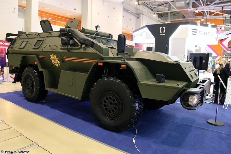 Бронеавтомобиль КАМАЗ-43269 Выстрел (KAMAZ-43269 Vystrel armored vehicle)