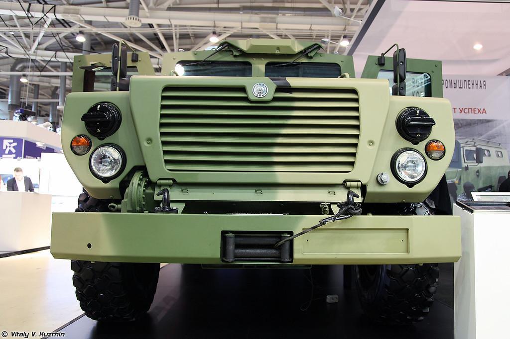 Бронеавтомобиль ВПК-3924 СПМ-3 Медведь (VPK-3924 SPM-3 Medved armored vehicle)