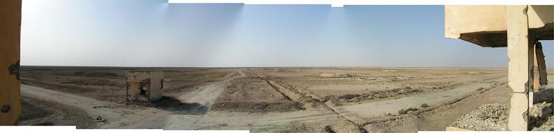 Old Iraqi range near Al Kut, Iraq