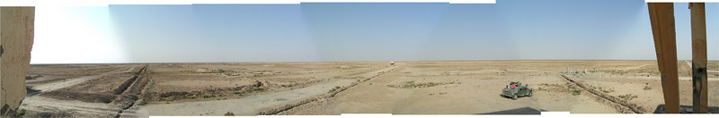 Old Iraqi range near Al Kut, Iraq.