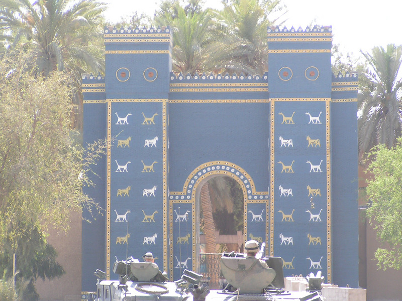 Ishtar Gate, Babylon (recreation, I believe)