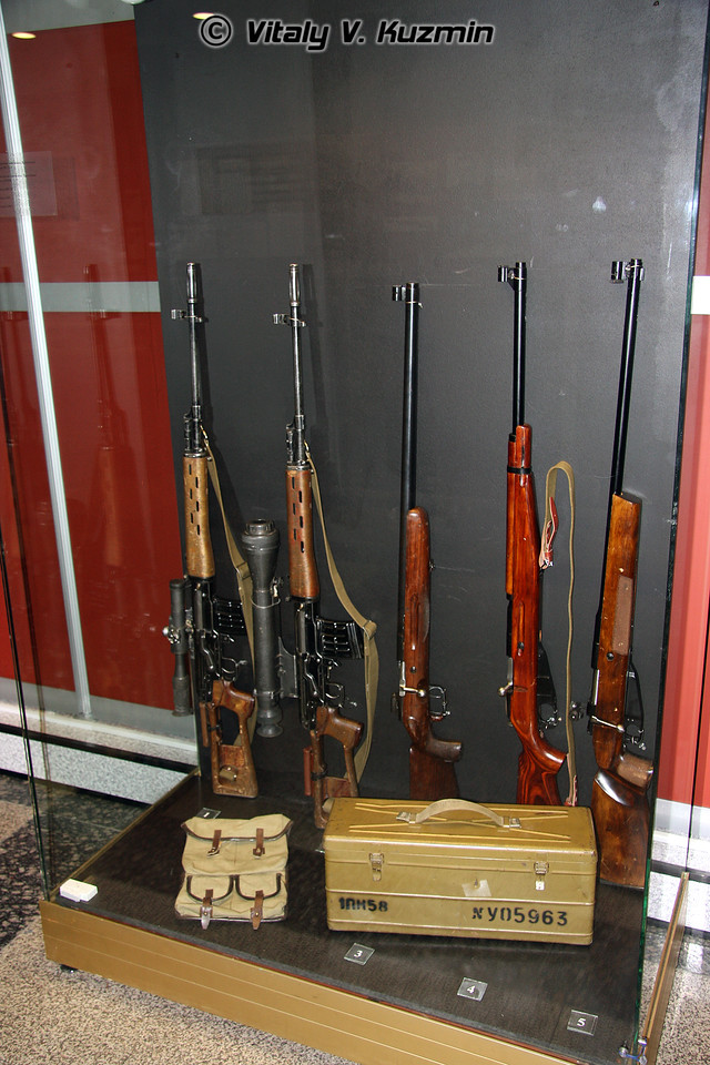 Винтовки СВД, СВД-Н, ЦВ-50, АВ и АВЛ (SVD, SVD-N, TsV-50, AV and AVL rifles)